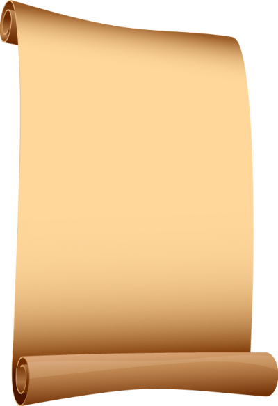 Pink Old Scroll Paper Png