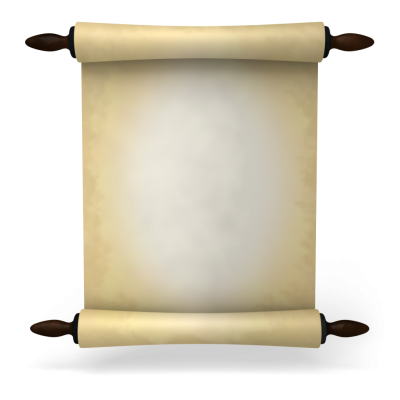 Scroll Clipart PNG Images