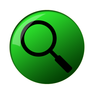 Search Green Button Circle Cut Out Png