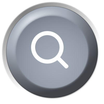 Search Gray Circle Button Background