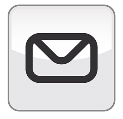 Send Email Button Transparent Background