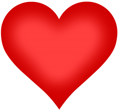 Red Heart Shape Cut Out Png PNG Images