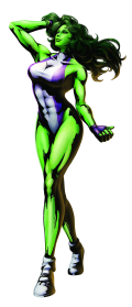 She Hulk Transparent Picture PNG Images
