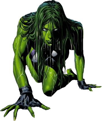 She Hulk Clipart Photos PNG Images