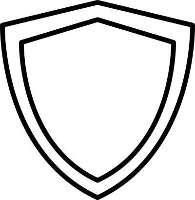 Black Border Shield Vector Png PNG Images