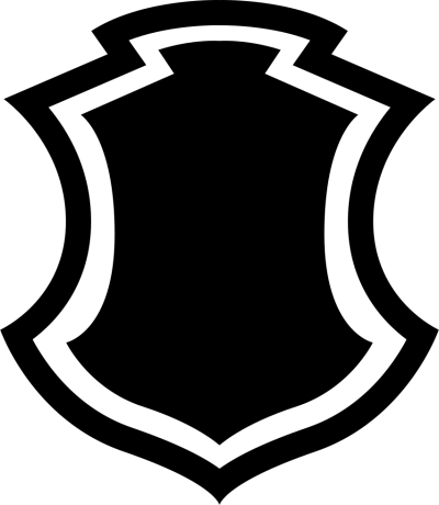 Shield Shape With Border icon Free Download PNG Images