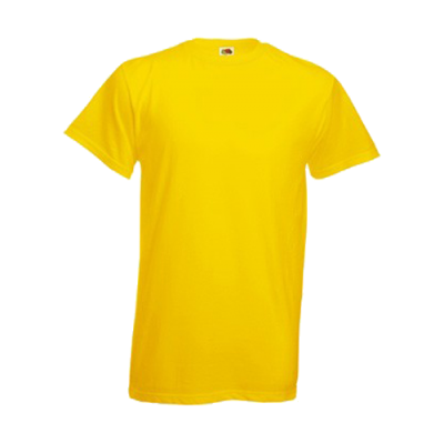 Yellow Shirt Clipart PNG File