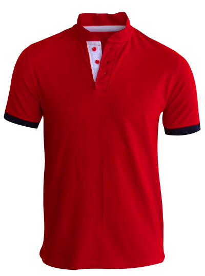 Red Polo TShirt, Fron View T Shirt PNG Images