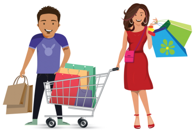 Shopping Wonderful Picture Images PNG Images