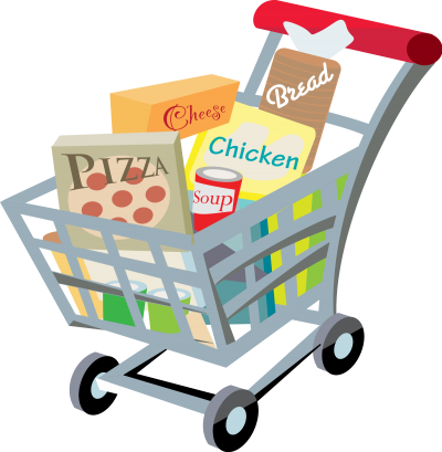 Full Shopping Basget Transparent PNG Images