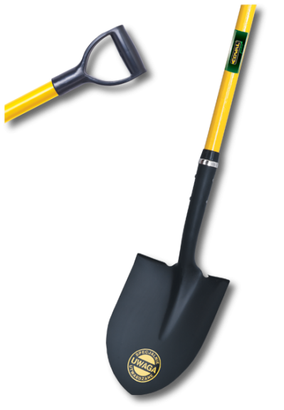 Yellow Shovel Transparent Picture