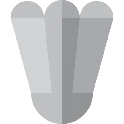 Simple And Light Shuttlecock Icon Png