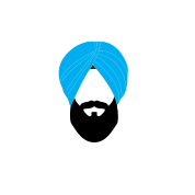 Sikh Turban Vector PNG Images