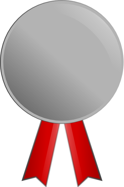Silver Medal Clip Art At Photo PNG Images