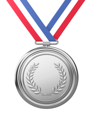 Silver Medal Photo PNG Images