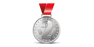 Two Silver Medal Png PNG Images
