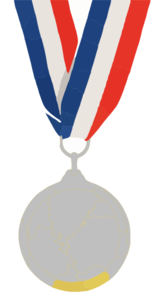 Victory Silver Medal Clipart At Png
