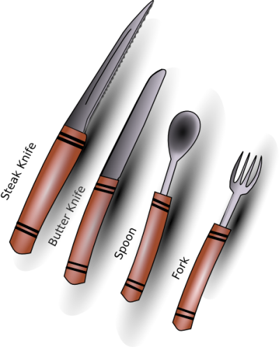 Cutlery Silverware Clip Art Photo PNG Images