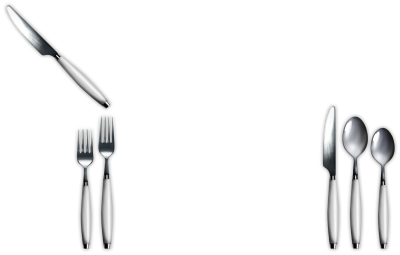 Knife, Spoon, Silverware Png PNG Images