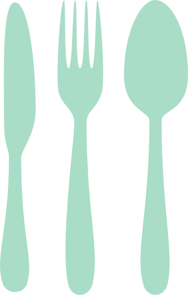 Mint Cutlery Clip Art At PNG Images