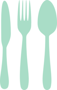Mint Cutlery Clip Art At Pic PNG Images