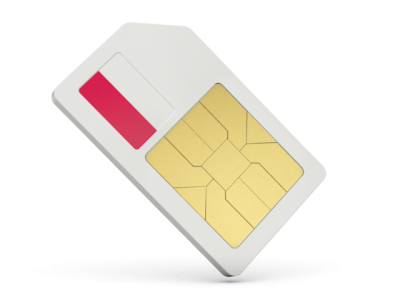White Sim Card Cut Out PNG Images