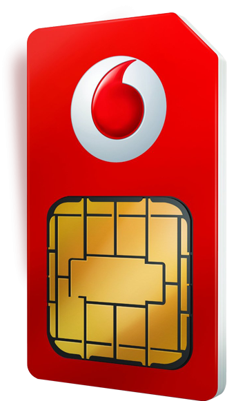 Vodafone Sim Card Icon PNG