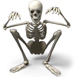 Skeleton Clipart Photos PNG Images