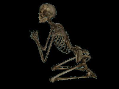 cb7068c89 Skeleton Prayer Cut Out - 14033 - TransparentPNG