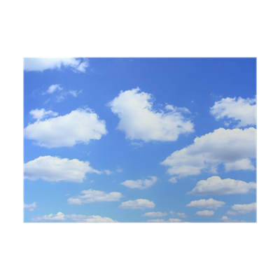 Beautiful Blue Sky HD Photo Download And Regular Clouds PNG Images