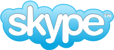 Logo Skype Blue Picture PNG Images