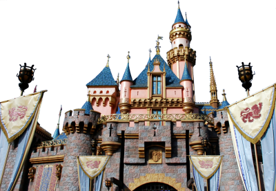 Sleeping Beauty Castle Png PNG Images