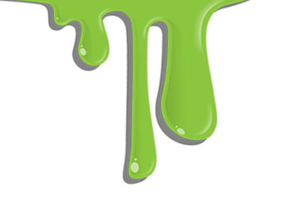 Blue Green Dripping Ooze Wax Pictures PNG Images