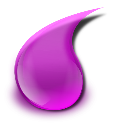 Clipart Purple Slime Drop Png PNG Images