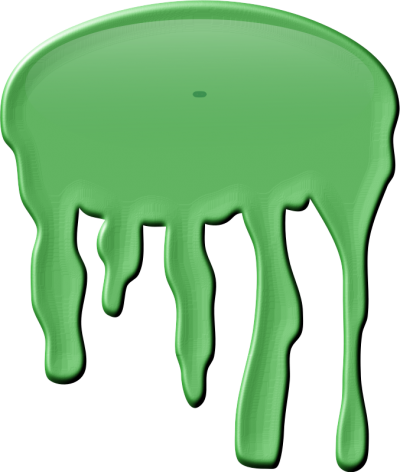Dripping Green Slime Png