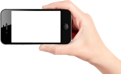 Smartphone On Hand PNG PNG Images