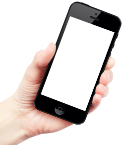 Smartphone In Hand Png PNG Images