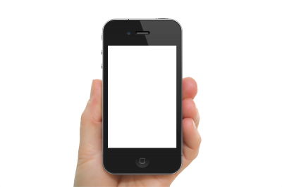Mobile Phone, Smartphone On Hand Png