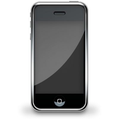 Black Smartphone HD PNG Images
