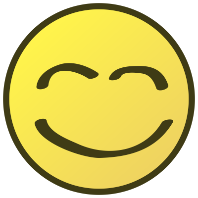 Satisfied Smile Emoji Clipart Png Download PNG Images