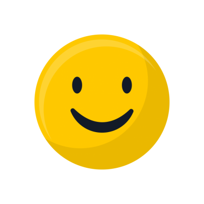 Round Yellow Smile Free Download PNG Images
