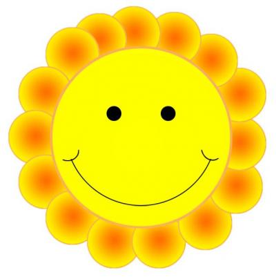 Smiley Face Daisy Clip Art Free Download Transparent