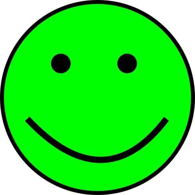 Green Smiley Face Clip Art Amazing Image Download