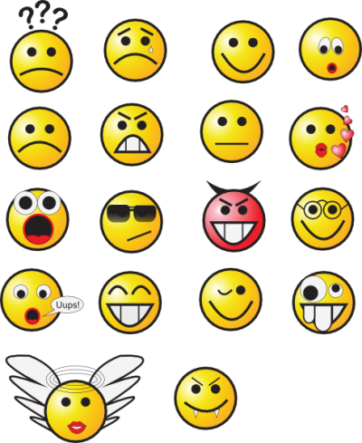 Smiley Faces Clip Art Transparent Image PNG Images