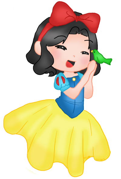 Chibi Snow White Png PNG Images