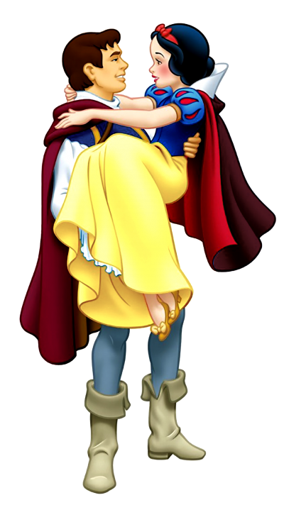 Prince And Princess Snow White Png Transparent