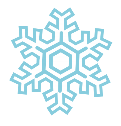 Turquoise Snowflake Transparent Photo Free Download PNG Images