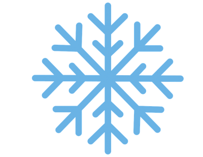 Blue Straight Lines Snowflake Png icon Hd Download PNG Images
