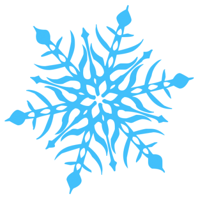 Snowflakes Vector PNG Images