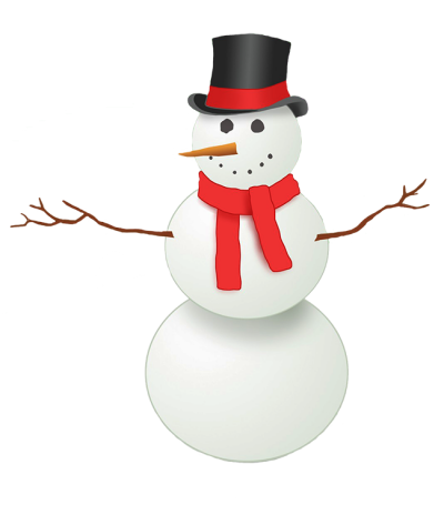 Snowman Clipart Free Download With Rod Sleeves PNG Images